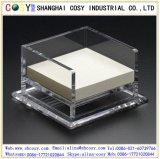 La hoja plástica decorativa transparente y económica echó el panel de acrílico