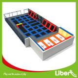 Séance d'entraînement de trempoline d'Areana de trempoline de 340 mètres carrés la meilleure en vente