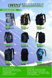 Solarrucksack mit Sonnenkollektoren und Energien-Bank für im Freien