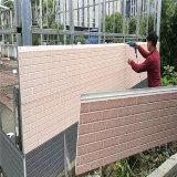 El panel de pared decorativo aislado de la pared exterior