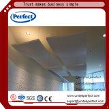 Cloison acoustique /Panel de plafond de fibre de verre de matériaux décoratifs verts
