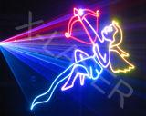 Karten-Animation-Laser-Projektor Stufe-Laser-Beleuchtung RGB-Sd