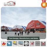 3000 Leute-grosses Polygon-Zelt mit Drucken für Bier-Festival