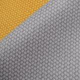 Buntes Webart-Korb gedrucktes Belüftung-überzogenes Leder für Beutel