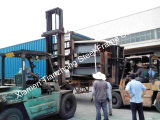 Pre dirigir el edificio grande de la estructura de acero