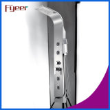 Fyeer Stainless Steel Black Shower Panel