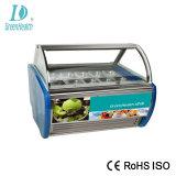 Energy Saving Car Defrost Gelato Ice Cream Refrigerator Display