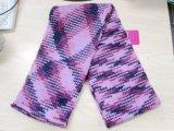 Cappello lavorato a maglia brillante variopinto di modo del capretto & sciarpa & guanti per l'inverno