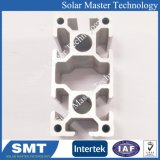 Perfil de extrusión de aluminio Fabricación de perfiles de aluminio anodizado de oro para la construcción