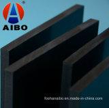 Tarjeta negra de la espuma del PVC del color de la alta calidad