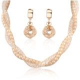 Мода подарок Pearl и Crystal Reports украшения Цепочка для летнего сезона пружины