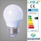 Bulbo de lâmpada do diodo emissor de luz de Sigemr A45 220V 6500k E27 3W