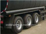 40m3 Kohlenstoffstahl-Tri Wellen-Kraftstoff-Tanker-halb Schlussteil