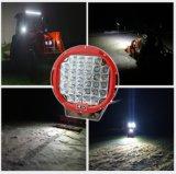 160W 4D LED作業はクリー族のオフロードフォークリフト車のスポットライトの掘削機ATVランプのトラクターのトラックの軽いボートUTVのスポット・ビームをつける