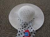 Подгонянный шлем Sun ведра сторновки повелительниц бумажный на лето