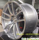 Travail d'accessoires de véhicule du Japon emballant les roues d'alliage décalées par aluminium