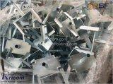 電流を通される足場支柱の上サポート鋼鉄Forkhead
