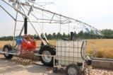 2つの車輪側面移動用水系統