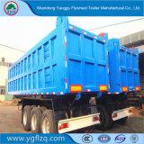 ABS die de Op zwaar werk berekende Achter Semi Aanhangwagen van de Vrachtwagen van de Kipwagen met Cilinder Hyva voor Vervoer van het Zand/van de Steen/van de Steenkool remmen