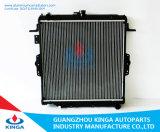Permutador de calor em alumínio Peças de Motor OEM do radiador 16400-17071/17300 caminhonete para Hzj73v'96-99