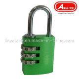 Aluminiumlegierung-Farben-Kombinations-Vorhängeschloss-Verschluss (527 -304)