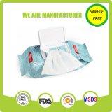 Wipe popolare materiale non tessuto libero del bambino di cura di pelle del prodotto chimico