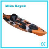 Il prezzo del peschereccio del kajak dell'oceano si siede sulla canoa superiore con il sistema di timone