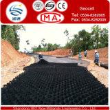 Geocell, Enginneringing와 Construction에 샌디 Soil와 가진 Filling