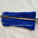 Оптовая торговля Ab/Bc уровня коровы Split кожаные перчатки сварочные работы