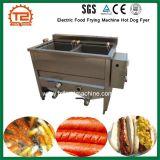 De elektrische Hotdog Fyer van de Machine van het Voedsel Bradende voor Goedkope Prijs