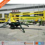 levage remorquable articulé hydraulique de boum de remorque de pouvoir de diesel de 6-16m à vendre