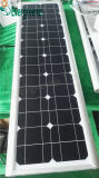L'aluminium Matériau du corps de lampe solaire Rue lumière LED Tout en Un