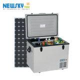 congelador solar do compressor do mini congelador 55L portátil mini para o carro