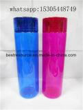La capacidad de gran colorido Tritan sin BPA Botella de agua de plástico