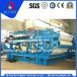 Filtro da vuoto/pressione/estrazione mineraria della cinghia ISO9001 per il concentrato del ferro/minerale metallifero del potassio (16300X2800X2060)
