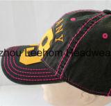 선전용 패치를 가진 형식 스포츠 야구에 의하여 세척되는 모자