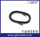 1.8m Vlakke HDMI Kabel de Van uitstekende kwaliteit 1.4V 2.0V (F023)