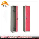安い金属の家具は1つのドアの鋼鉄貯蔵用ロッカーを選抜する