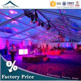 500명 1000명의 사람들 이상적인 옥외 큰 공간 PVC 직물은 모든 사건 및 경우를 위한 큰천막 투명한 천막을 덮었다