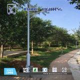 luz de rua solar da bateria de lítio 60W de 7m