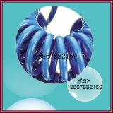Blue 6mm tubo espiral PA de plástico de Recuo