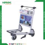 Chariot à bagages de l'aéroport de frein à main