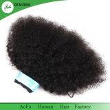 Aofa brasilianische Großhandelsjungfrau-Afro-Verworrenes lockiges Haar für schwarze Frauen