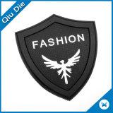 Het Etiket van pvc van het Embleem van de douane voor Kledingstuk/Zak/Schoenen