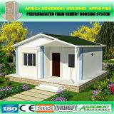Casa prefabricada modular del envase para el dormitorio, solo departamento