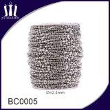 Roestvrij staal van uitstekende kwaliteit 2.4mm de Ketting van de Bal voor Tegenhanger