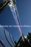 Entrambe tubo solare evacuato depressione parabolica aperta del lato