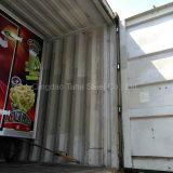 En acier inoxydable mobiles de distributeurs de nourriture pour la vente de remorque