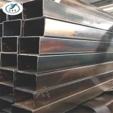 El material de construcción tubo negro
