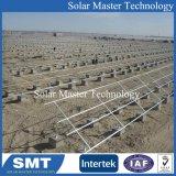Соединение на массу стеллажа солнечной энергии на поддержку